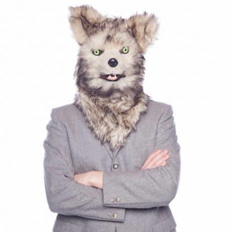 Masque de loup réaliste