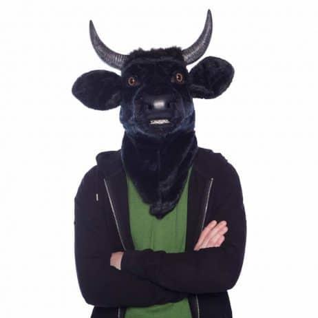 Masque taureau réaliste