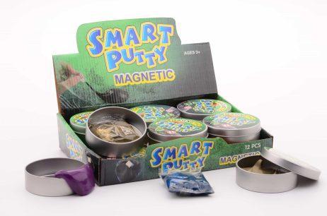 PATE INTELLIGENTE MÉTAL (Pâte à modeler magnétique) Boite 60 grammes
