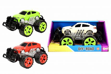 VOITURE MONSTER TRUCK (Taille 30 cm - 3 coloris)