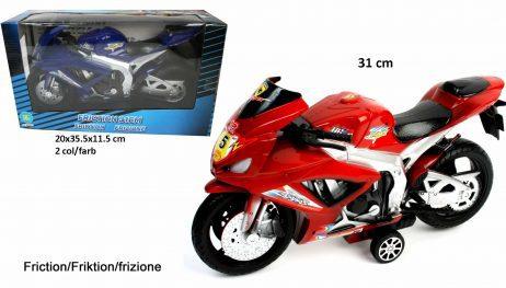 Moto rétro - friction