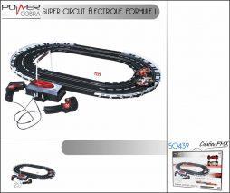 Circuit electrique formule 1