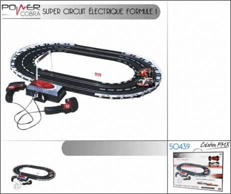 CIRCUIT ELECTRIQUE F1 (Circuit Racing formule 1)