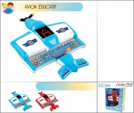 Avion educatif d'eveil