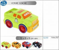 Voiture sonore
