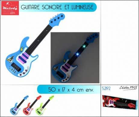 Guitare rock electrique