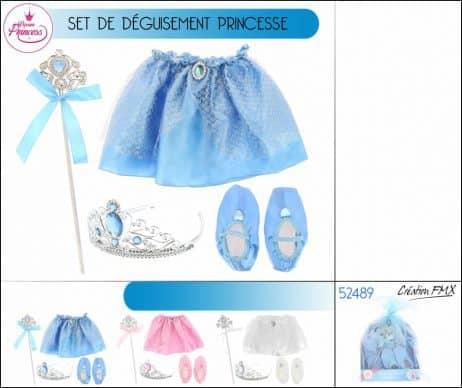 Set de princesse 4 pièces