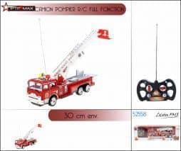 Camion de pompier radiocommandé