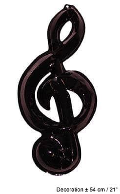 Note de musique décorative