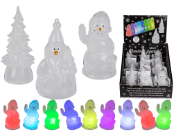 Figurines de noel a led