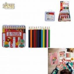 Boite de 12 crayons couleur