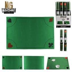 Tapis vert jeux de cartes