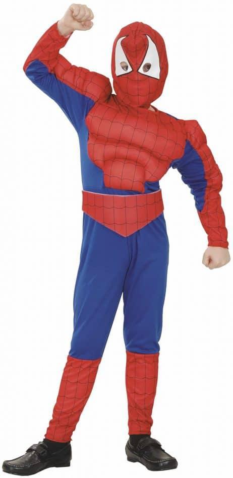 L'homme araignée musclé