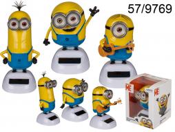 Figurine solaire Minions