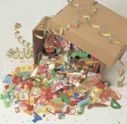 Colis jouets de kermesse