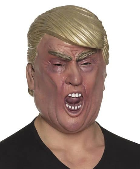 MASQUE TRUMP EN COLÈRE (Masque Intégral en latex) Homme politique