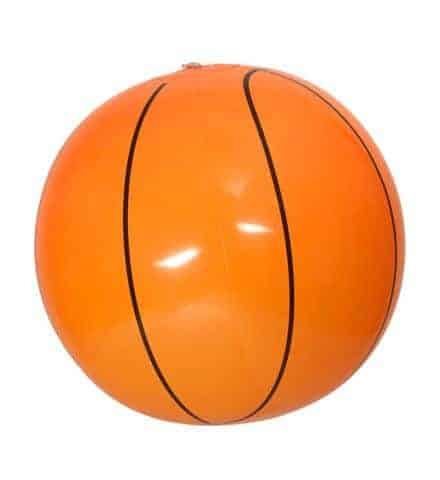 Ballon de basket de plage