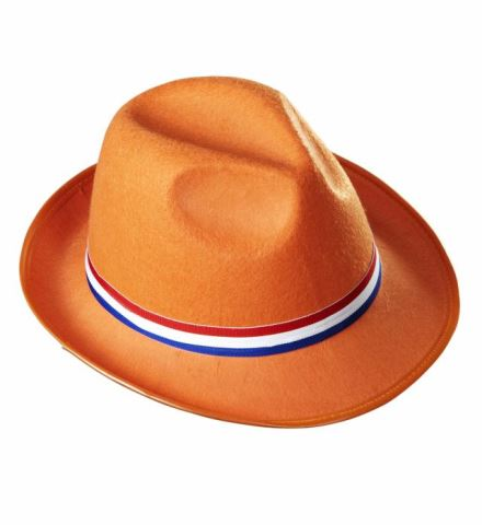 CHAPEAU DE SUPPORTER (Chapeau orange - Pays bas)