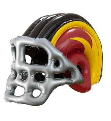 CASQUE DE FOOTBALL US (Casque gonflable adulte) Football américain
