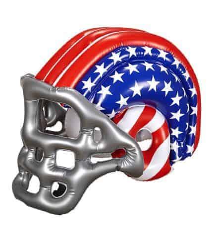 CASQUE DE FOOTBALL US (Casque gonflable enfant) Drapeau USA