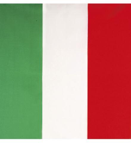 BANDANA ITALIEN (Dimension 55 x 55 cm) Drapeau de l'Italie