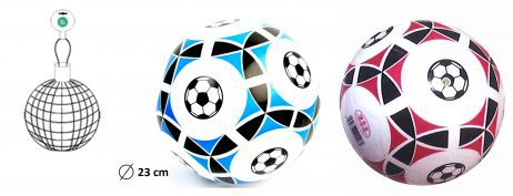 Ballon de foot plastique