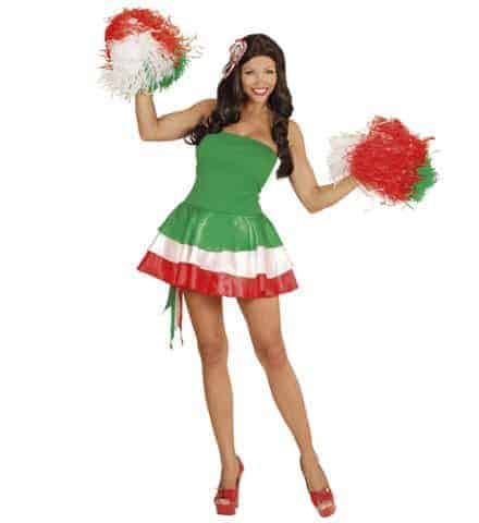 Robe miss supportrice Italie