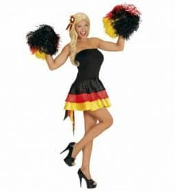 Robe Miss supportrice Allemagne