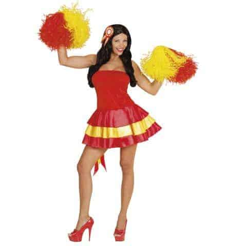Robe miss supportrice Espagne