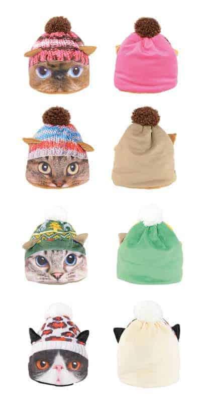 Bonnet yeux de chats