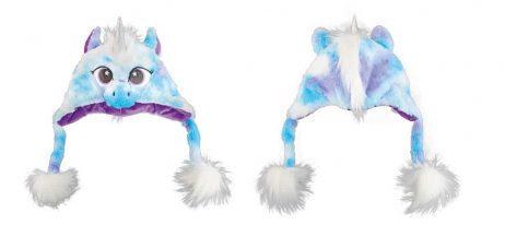 Bonnet licorne bleu