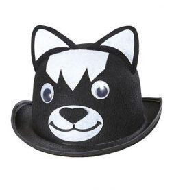 Chapeau melon chat