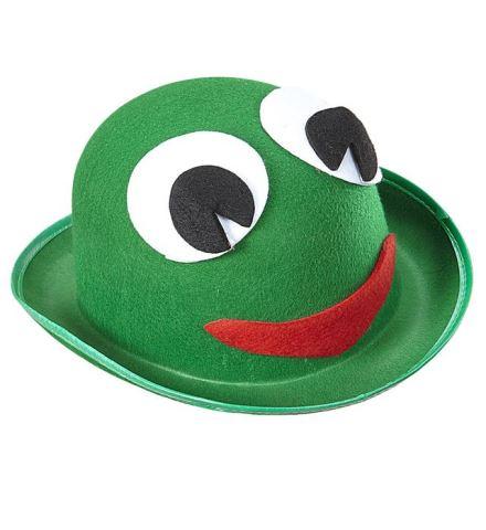 Chapeau melon grenouille