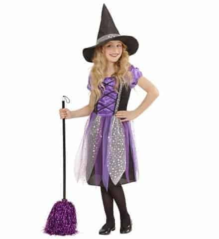 PETITE SORCIÈRE FÉERIQUE (Robe enfant avec chapeau) de 5 à 13 ans - Démo vidéo