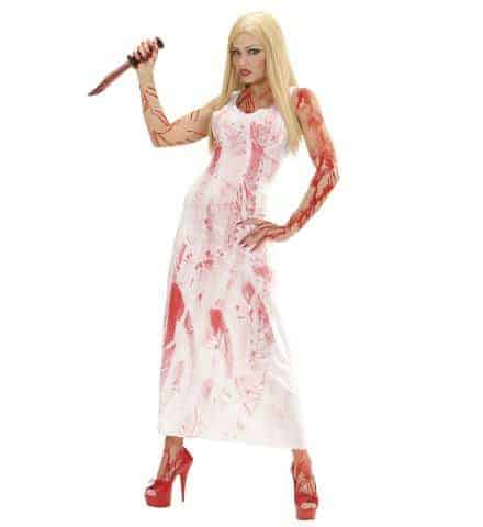 ROBE LONGUE BLOODY MARY (Tailles adultes - Démo vidéo)