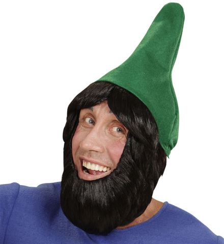 Chapeau vert nain de jardin