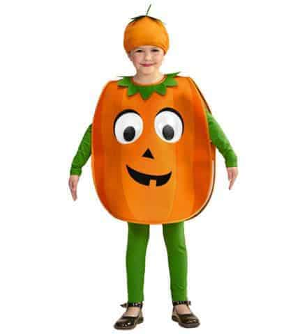 Costume citrouille enfant
