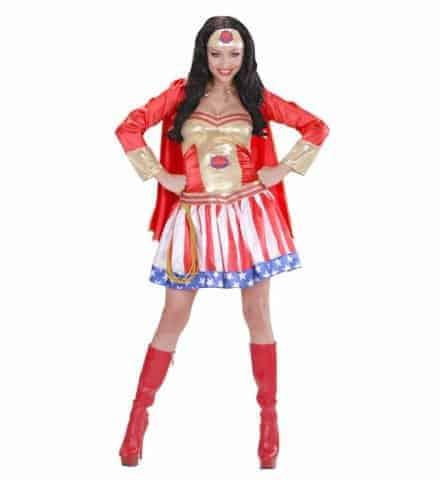 Costume femme super pouvoir