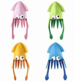 Chapeau tete de calamar