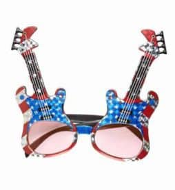 Lunettes guitares USA