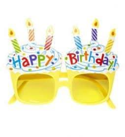 Lunettes happy birthday