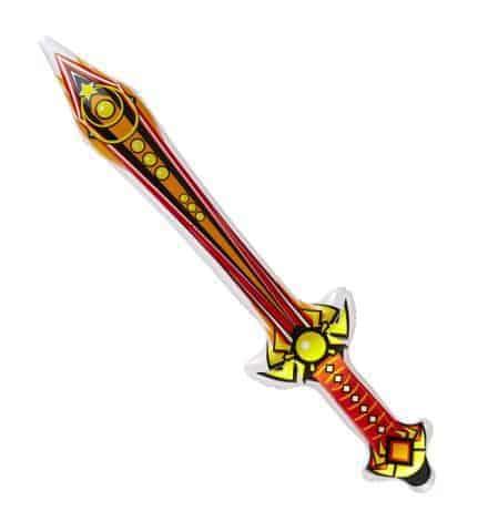 EPÉE MAGIQUE GONFLABLE (Épée rouge de 70 cm)