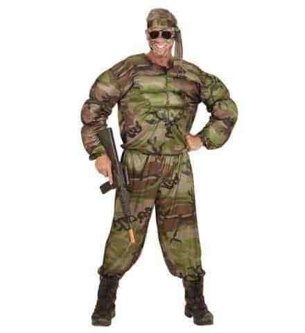 Costume super soldat