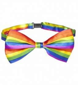 Noeud papillon gay pride