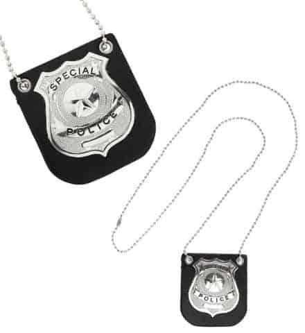 BADGE SPÉCIAL POLICE (Insigne et chaîne)