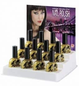 Vernis a ongle brillant or