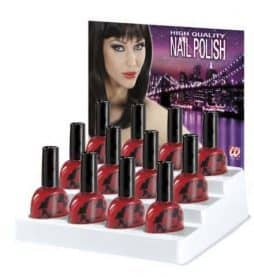 Vernis à ongle rouge