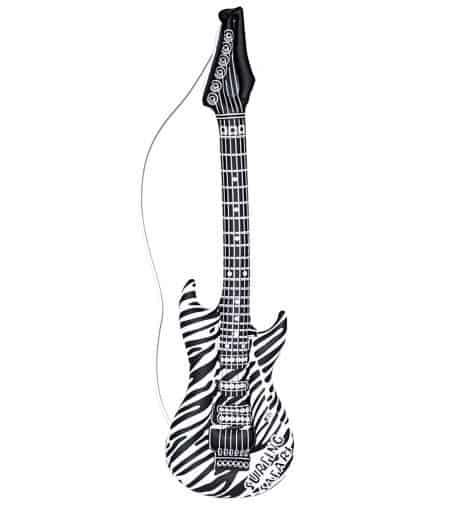 GUITARE ROCK ZÉBRÉE (Guitare gonflable)