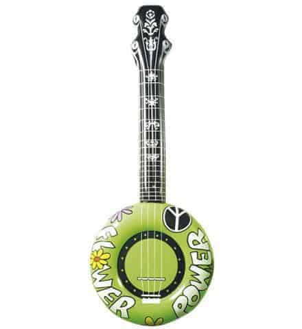 Banjo gonflable vert