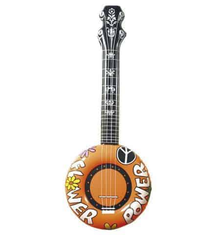 Banjo gonflable orange